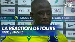 La satisfaction d'Abdoulaye Touré après PSG / Nantes : Ligue 1 Uber Eats