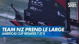 Team New Zeland prend le large : Americas Cup : Régates 7 et 8