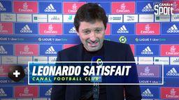 Leonardo très satisfait de son équipe après OL / PSG : Canal Football Club