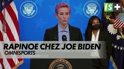 Rapinoe à la Maison Blanche pour l'égalité salariale : Omnisports