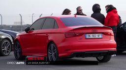 Dans le rétro : La Saga Audi S3