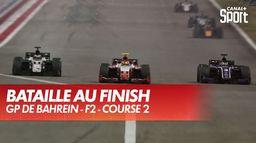 Grosse bataille dans le dernier tour en F2 : Grand Prix de Bahreïn