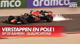 Verstappen décroche la pole ! : Grand Prix de Bahreïn