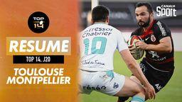 Le résumé de Toulouse / Montpellier : Canal Rugby Club
