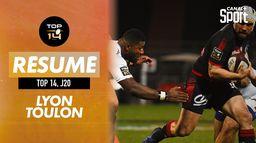 Le résumé de Toulon / Lyon : TOP 14