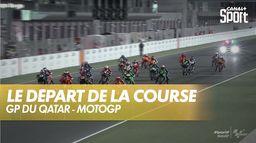 Le départ de la course : Grand prix du Qatar