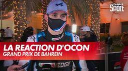 "Ocon : ""Vettel est venu s'excuser"" : Grand Prix de Bahreïn"
