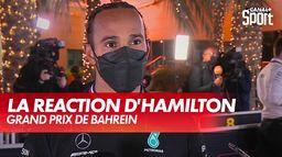 """Hamilton : """"Si Max n'avait pas fait cette erreur..."""" : Grand Prix de Bahreïn"""