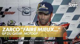 """Zarco : """"J'espère encore faire mieux"""" : Grand Prix du Qatar"""