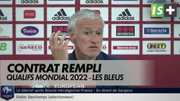 Contrat rempli pour les Bleus : Qualifs mondial 2022
