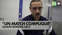 """Antoine Griezmann:""""Un match compliqué"""" : Bosnie 0 - 1 France"""
