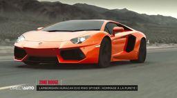 Zone Rouge : Lamborghini Huracan Evo RWD Spyder !