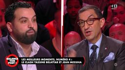 Le best-of de Balance Ton Post : le clash entre Yassine Belattar et Jean Messiha