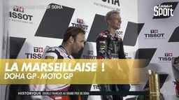 La Marseillaise vient consacrer la victoire de Fabio Quartararo : Grand prix de Doha