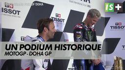 Un podium historique : Grand prix de Doha