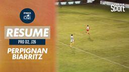 Le résumé de Perpignan / Biarritz - Pro D2 (J26) : PROD2