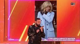 Cyril Hanouna appelle Brigitte Macron pour son anniversaire !