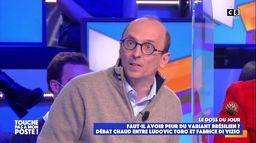 Le coup de gueule de Fabrice Di Vizio sur la fermeture des frontières