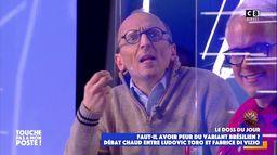 """Fabrice Di Vizio tacle Gilles Verdez sur le plateau de TPMP : """"Vous êtes là pour faire le buzz !"""""""