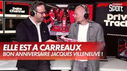 Le cadeau d'anniversaire de Julien Fébreau à Jacques Villeneuve : Grand Prix d'Emilie Romagne
