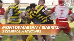 Le résumé de Mont-de-Marsan / Biarritz : Pro D2 - 27ème journée