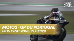Arón Canet fait tomber le record de la piste ! : Grand Prix de Valence