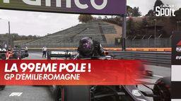 La pole pour Lewis Hamilton : Grand Prix d'Emilie Romagne