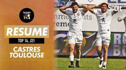 Le résumé de Castres / Toulouse : Top 14, 21ème journée