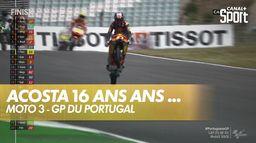 Deuxième victoire successive de Pedro Acosta : Grand Prix du Portugal