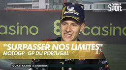 Nouvelle victoire de Fabio Quartararo : Grand prix du Portugal