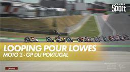 Chute spectaculaire de Sam Lowes : Grand Prix du Portugal