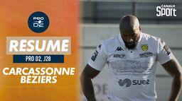 Le résumé de Carcassonne / Béziers : PRO D2