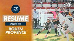 Le résumé de Rouen / Provence : PRO D2