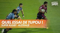 Incroyable essai de Taniela Tupou pour les Reds ! : Super Rugby