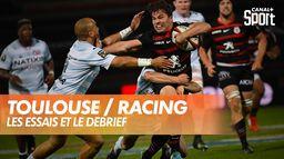 Les essais et le débrief de Toulouse / Racing : TOP 14