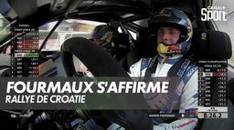 Superbe prestation d'Adrien Fourmaux : Rallye de Croatie