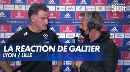 La réaction de Christophe Galtier après Lyon / Lille : Ligue 1 Uber Eats