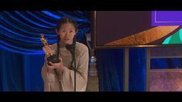L'Oscar 2021 de la Meilleure Réalisation revient à Chloe Zhao pour Nomadland