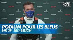 """Billy Besson : """"On est jugé que sur les résultats"""""""