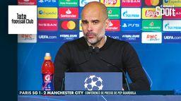 """""""On sait que tout peut arriver"""" - La conférence de Pep Guardiola après PSG / Manchester City : Late Football Club"""