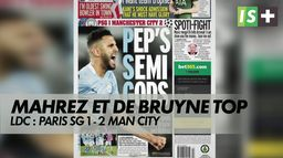 """Guardiola : """"Il ne ressent pas la pression dans les grands matches"""" : LDC : Paris SG 1 - 2 Man City"""