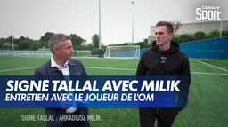 Signé Tallal avec Arkadiusz Milik (Olympique de Marseille) : Ligue 1 Uber Eats