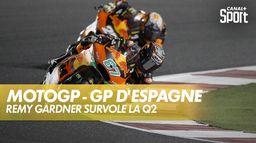 Remy Gardner attaque et tombe le record ! : Grand Prix de Valence