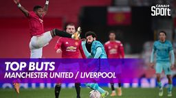 Le Top Buts de Manchester United / Liverpool : Premier League