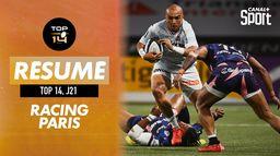 Le résumé de Racing 92 / Stade Français : TOP 14 - J21