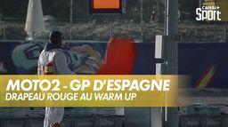 Celestino Vietti chute au virage 7 ! : Grand Prix de Valence
