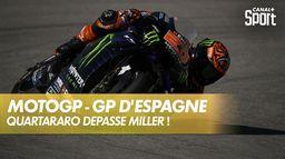 Quartararo prend la tête du GP d'Espagne : Grand prix d'Espagne