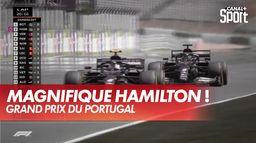 Magnifique Hamilton qui dépasse Bottas : Grand Prix du Portugal