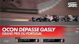 Ocon dépasse Gasly : Grand Prix du Portugal