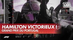 Nouvelle victoire de Lewis Hamilton : Grand Prix du Portugal